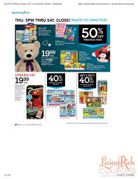 toys r us black friday ad hours deals living rich with coupons