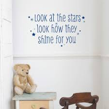 look at the stars wall quotes decal wallquotes com see it with your wall color