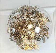Flower Pendant Light Artecnica Tangel Globe Flower Light Pendant L Chandelier