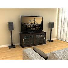 Amazon Fireplace Tv Stand by Amazon Com Atlantic Speaker Stands For Bookshelf Speakers Up To