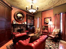 Decorating With Red Sofa 12 Dreamy Home Libraries Hgtv