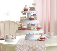 tiered cake stands tiered cake stand pottery barn kids