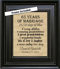 65th wedding anniversary gifts framed 65th wedding anniversary 65th anniversary gifts 65th