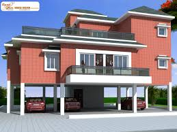 coastal house plans on pilings this is a beautiful four bedrooms duplex house design stilt floor