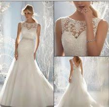 wedding dresses uk mermaid and trumpet wedding dresses ebay