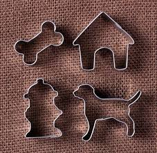 mini cookie cutters hydrant bone house