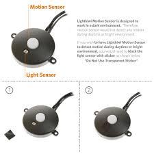 motion sensor under cabinet lighting motion sensor for cabinet lighting lightkiwi