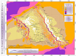Molokai Map High Resolution Wind Resource Maps Hawaiian Electric