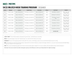 Barge Draft Tables Training For A 5k Check Out These Running Plans Protips