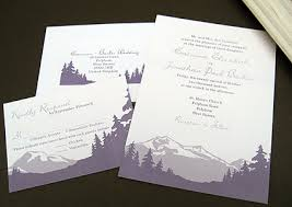 mountain wedding invitations mountain wedding invitations kawaiitheo