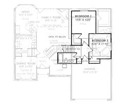 traditional style house plan 3 beds 2 50 baths 1897 sq ft plan
