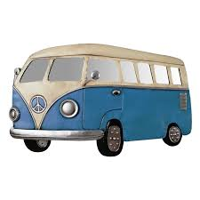 Retro Camper Metal Wall Art Retro Camper Van Decorcave Com