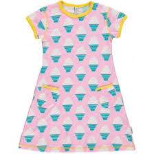 maxomorra ice cream ss dress