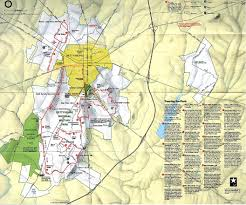 Road Map Of Pennsylvania by National Historic Sites Memorials Military Parks And Battlefield