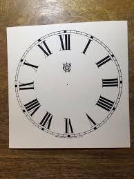 reproduction waterbury clock co dial