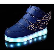 light up running shoes topteck kid boy usb charging led light up running shoes