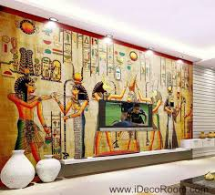 Ancient Egypt Interior Design Egypt Ancient Egyptians Idcwp Eg 03 Wallpaper Wall Decals Wall Art