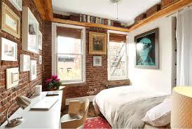 small studio apartment brick renovated studio apartment exposed