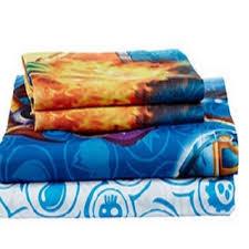 skylander bedroom bed sheet set bedding linen sheets twin linens kids skylander