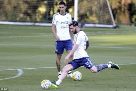 Lionel Messi Leg Lionel Messi Seems To Had A Change Of About His Leg