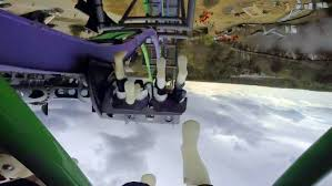 Six Flags In Winter The Joker Front Seat On Ride Hd Pov Six Flags Great Adventure