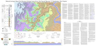 Virginia Rivers Map by Wvges National Park Service Nps Mapping