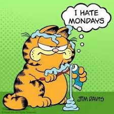 I Hate Mondays Meme - garfield i hate mondays meme garfield i hate mondays quote