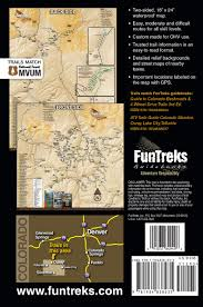 Colorado Game Unit Map by Off Highway Map For Silverton Ouray Lake City Telluride