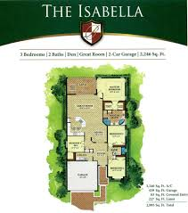 bonita national floor plans