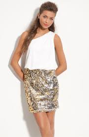 way in sequin skirt one shoulder dress juniors available at