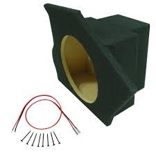 camaro speaker box custom chevy camaro 93 02 coupe single 10 sub box sealed speaker