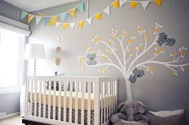 Yellow Gray Nursery Decor 50 Gray Nurseries Find Your Shade Project Nursery