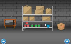 escape spooky basement game neg