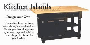 amish kitchen islands amish furniture