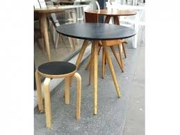 cuisine sienne table cuisine sienne noir table de bistrot frene