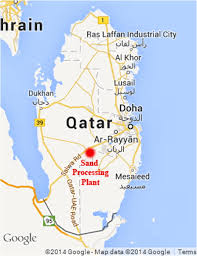 Doha Map Performance Evaluation Of Full Scale Sections Of Asphalt Pavements