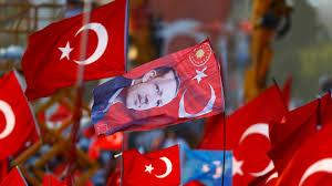 Flag Pictures Wahlkampf Auftritte Eines Ehemaligen Ministers Der Akp In
