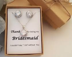 necklace set gift box images Bridesmaid jewelry set bridesmaid gift maid of honor jewelry gift jpg