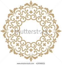 Decorative Line Clip Art Vector Decorative Line Art Frames Design Stock Vector 348501800