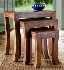 Zable Side Table Nest Of Three Tables Tables Sets Of Tables Pepperfry Product