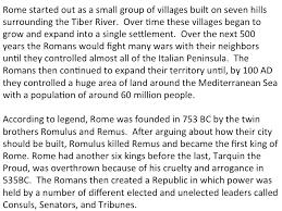 rome u2013 presentations mrgrayhistory