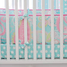 my baby sam pixie baby in aqua crib bumper