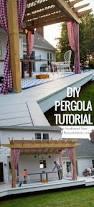 Deck Pergola Ideas by Best 25 Diy Pergola Ideas On Pinterest Pergola Outdoor Pergola