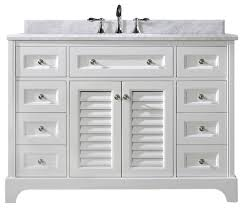 Double Bathroom Vanities As Bathroom Vanity Cabinets And Perfect - 48 white bathroom vanity cabinet