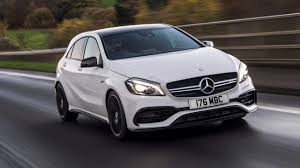 mercedes a class 45 amg mercedes amg a45 review top gear