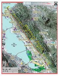 Fault Line Map The Hayward Fault Overdue For Disaster Quest Kqed Science