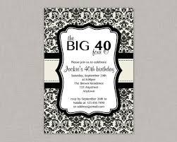 40th birthday invites u2013 gangcraft net