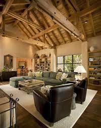 Rustic Modern Living Room by Rustic Contemporary Carmel Building U0026 Design Carmel Ca