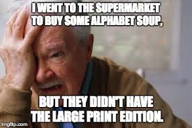 Alphabet Meme - i went to the supermarket to buy some alphabet soup but they didn t