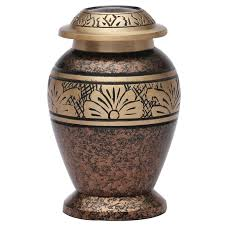 urn for ashes copper marble small keepsake funeral urn brass cremation urn for